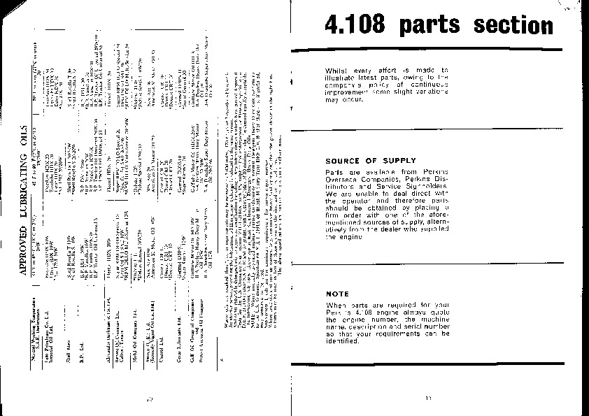 perkins engines 4 108 owners manual