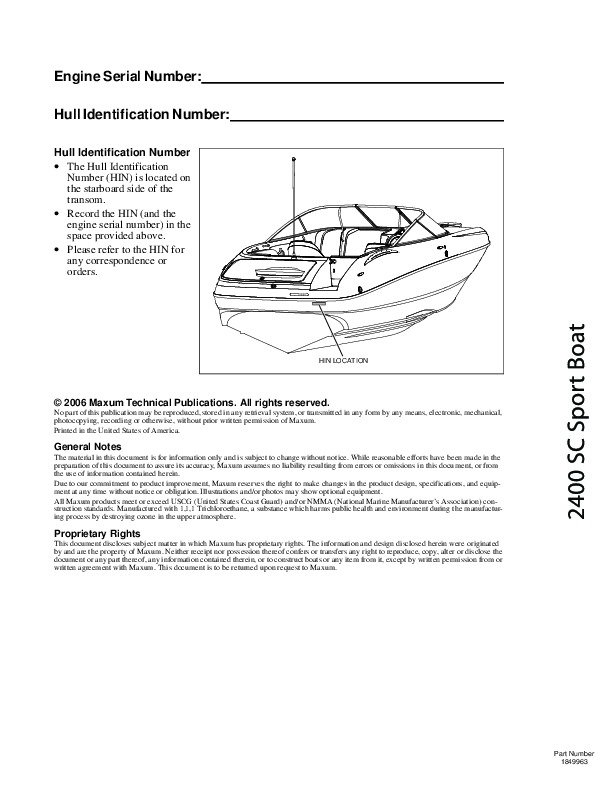2009 maxum 2400 sc3 sport boat owners manual guide rh filemanual com Maxum Ski Boat maxum boat owners manuals free download