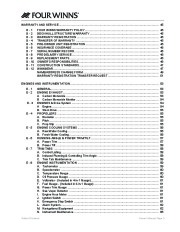 2005-2008 Four Winns Vista 258 278 Boat Owners Manual, 2005,2006,2007,2008 page 7