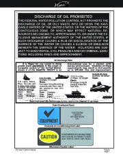 2002-2008 Four Winns Vista 378 Boat Owners Manual, 2002,2003,2004,2005,2006,2007,2008 page 11
