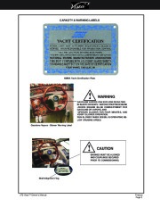 2002-2008 Four Winns Vista 378 Boat Owners Manual, 2002,2003,2004,2005,2006,2007,2008 page 9