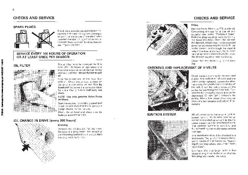 volvo penta aq175 aq200 aq225 aq260 aq271 aq290 aq311 operators manual rh marine filemanual com Volvo Penta Wiring-Diagram Volvo Penta 275 Outdrive