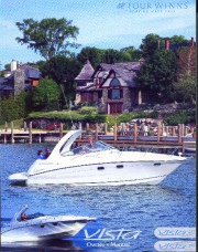 2002-2004 Four Winns Vista 298 328 Boat Owners Manual page 1