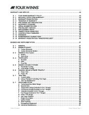 2006-2008 Four Winns Vista 318 Boat Owners Manual, 2006,2007,2008 page 7