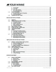2006-2008 Four Winns Vista 318 Boat Owners Manual, 2006,2007,2008 page 9