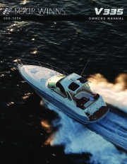 Four Winns V335 Boat Owners Manual page 1