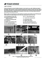 Four Winns V335 Boat Owners Manual, 2011 page 14