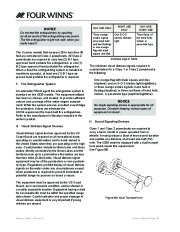 Four Winns V335 Boat Owners Manual, 2011 page 28