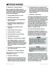 Four Winns V335 Boat Owners Manual, 2011 page 35