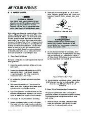 Four Winns V335 Boat Owners Manual, 2011 page 38