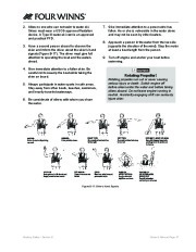 Four Winns V335 Boat Owners Manual, 2011 page 39