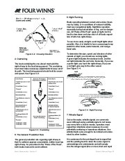 Four Winns V335 Boat Owners Manual, 2011 page 41