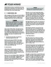 Four Winns V335 Boat Owners Manual, 2011 page 42