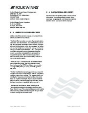 Four Winns V335 Boat Owners Manual, 2011 page 45