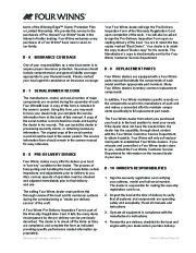Four Winns V335 Boat Owners Manual, 2011 page 47