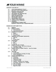 2005-2006 Four Winns Vista 348 Boat Owners Manual, 2005,2006 page 7