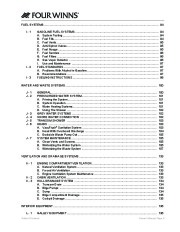2005-2006 Four Winns Vista 348 Boat Owners Manual, 2005,2006 page 9