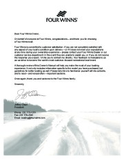 2006-2008 Four Winns Horizon 180 190 183 203 200 210 220 240 260 Boat Owners Manual, 2006,2007,2008 page 3