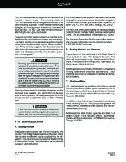 Four Winns Vista 348 Boat Owners Manual, 2002,2003,2004 page 21