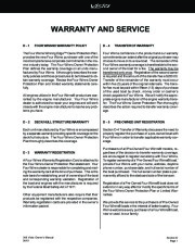 Four Winns Vista 348 Boat Owners Manual, 2002,2003,2004 page 41