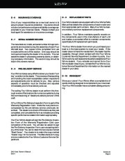 Four Winns Vista 348 Boat Owners Manual, 2002,2003,2004 page 42