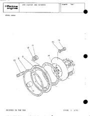 Perkins Engines 4 108 Parts Book Owners Guide page 28