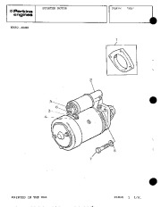 Perkins Engines 4 108 Parts Book Owners Guide page 34
