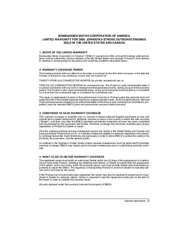 2005 johnson 9 9 10 15 hp r rl rhl te tel 2 stroke outboard owners rh filemanual com Deskjet HP Owner Manuals HP Manual PDF