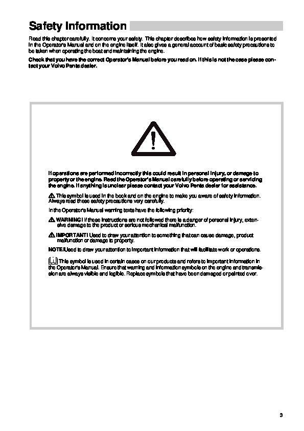 2005 2007 volvo penta d1 13 d1 20 d1 30 d2 40 owners manual volvo d1-30 manual volvo d1-30 manual
