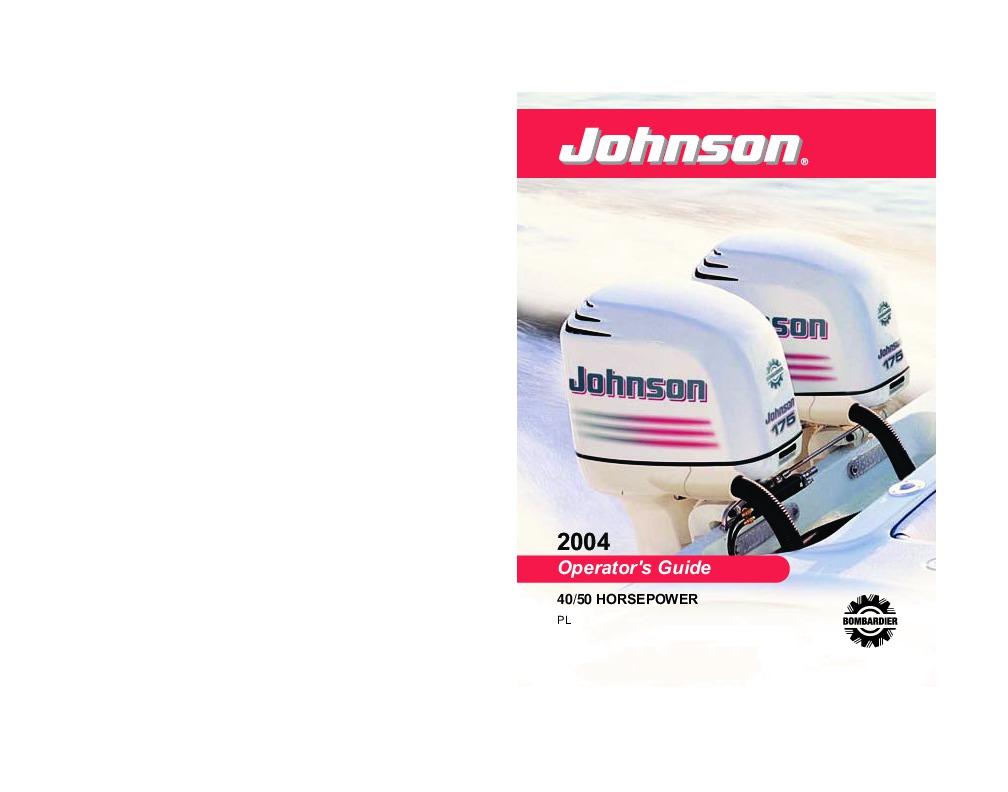 johnson motor manual download