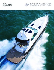 2008 Four Winns V458 Boat Owners Manual page 1