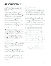 Four Winns Vista 338 Boat Owners Manual, 2007,2008 page 25