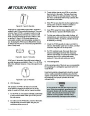 Four Winns Vista 338 Boat Owners Manual, 2007,2008 page 29
