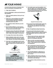 Four Winns Vista 338 Boat Owners Manual, 2007,2008 page 41