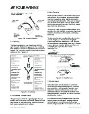 Four Winns Vista 338 Boat Owners Manual, 2007,2008 page 44