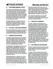 Four Winns Vista 338 Boat Owners Manual, 2007,2008 page 48