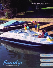 1998-2002 Four Winns Funship 214 234 254 Service Owners Manual, 1998,1999,2000,2001,2002 page 1