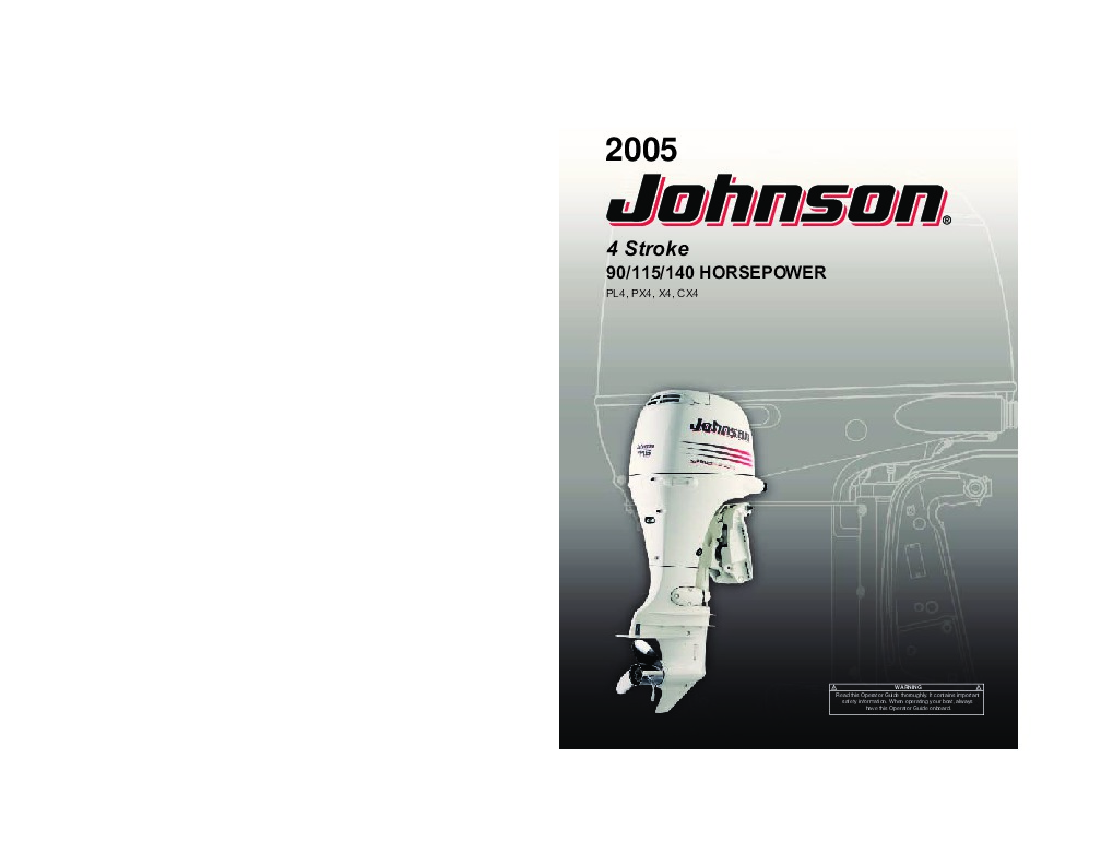 Johnson 115 Hp Outboard Motor Service Manual Evinrude Wiring Diagram Free Picture Schematics Diagrams