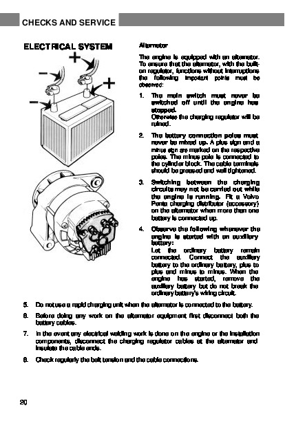 Volvo Penta user manual Aq131b