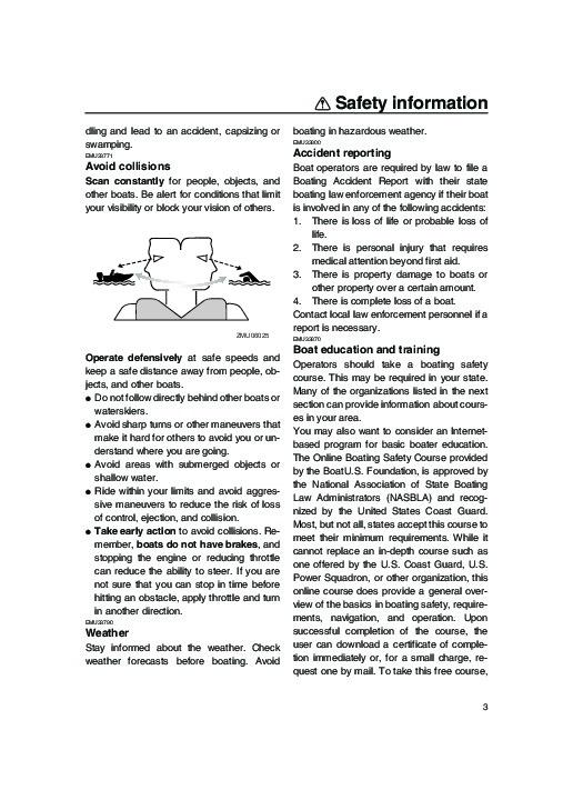 Yamaha 150 Outboard motor owners Manual Stroke lf150xa